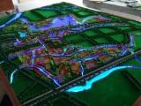 湖南乡镇政府扶贫规划地形地貌沙盘模型设计制作价格