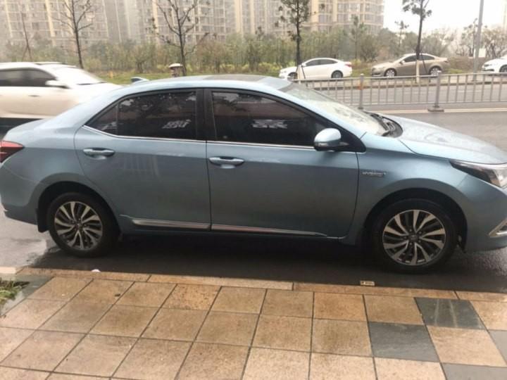 转让 轿车 丰田 卡罗拉2017款低首付出售 当天提车