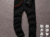 男士牛仔裤 黑色宽松休闲裤子 低价直筒牛仔长裤 男【一件代发】