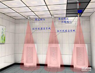 沟槽厕所红外感应式节水控制器