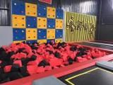 网红儿童蹦床粘粘乐,大型蹦床出租,300平方蹦床生产厂家