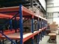 订做各类仓储货架平台货架钢扣平台叉板式仓储货架工厂仓储架