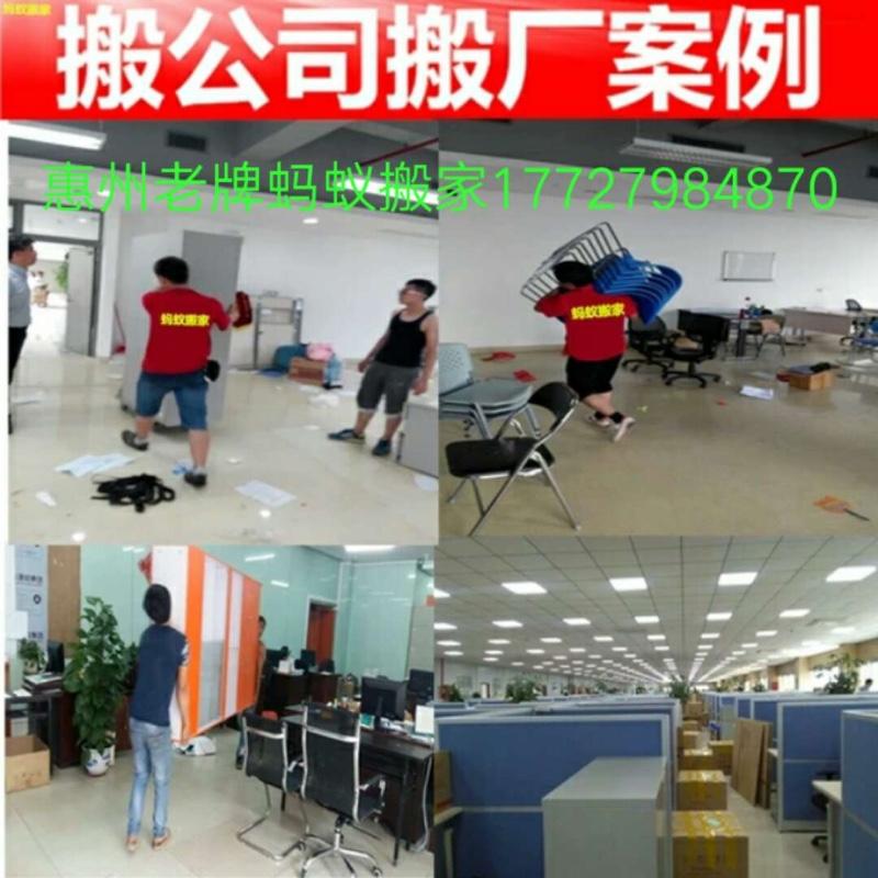 惠州老牌蚂蚁搬家公司