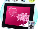 厂家批发 17寸/19寸数码相框电子相框广告机展示屏网络广告机W