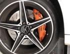 海南英能汽配 奔驰C级 制动改装AMG刹车卡钳套装改装案例