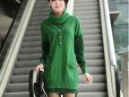 新款女士羊绒衫冬装长款羊毛衫韩版外套服装女装毛衣女衣服毛线衣