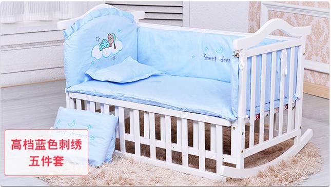 舒城贝多美松香婴儿床