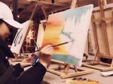长沙成人零基础学油画11.9成人油画工作室