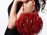 新娘包红色2012新款/金片结婚包晚装包手拿包晚宴包女包/厂家直