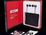 原装耳机JBM-9600入耳式耳机 带麦克风手机耳机 重低音金属