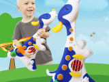 大号儿童卡通电动音乐吉他 宝宝智能电子琴玩具批发