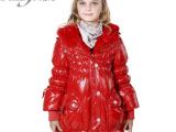 1141寅达出品/中女童装/儿童羽绒服,韩版儿童外套