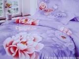 厂家直销全纯棉被套 蚕丝被床上用品零售
