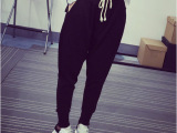 2015秋款休闲长裤卫裤显瘦运动裤薄款哈伦裤女宽松小脚九分裤韩版
