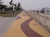 广西生态透水混凝土/彩色透水地坪路面铺装/ 透水混凝土价格