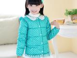 星子县羽绒服厂家直销 儿童羽绒服新款 小女童巴拉巴拉童装羽绒服