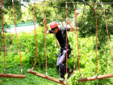 洛阳农场丛林飞跃项目 森林拓展器材安装 超能勇士拓展