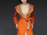 现货供应秋冬装中长款连帽双面羊绒大衣正品新款高端羊毛呢外套