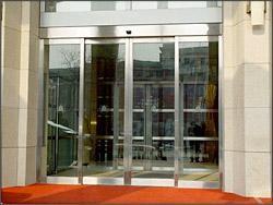 海淀区田村路安装维修玻璃门玻璃隔断感应门维修