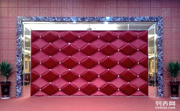 燕郊软包隔音背景墙软包床头会所软包硬包燕郊幼儿园软包墙沙发定