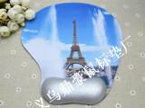 彩色护腕天然橡胶鼠标垫 法国铁塔