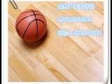 陕西运动地板厂家 篮球运动木地板 实木运动地板体育