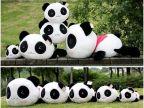 厂价批发超可爱趴趴熊猫 抱枕靠垫靠枕 毛绒玩具公仔玩偶