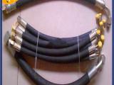 两层钢丝编织的加强的橡胶软管