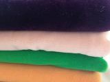 新款棉类面料 优质蒸纱绒布 全涤纬编布印花服装用布 厂家直销
