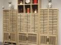 全实木普洱茶柜茶饼柜 新中式茶叶收藏柜可以定做