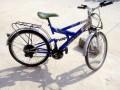 回家过年白菜价125元卖24寸18速山地自行车
