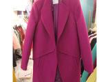 品言8522冬装新款韩国东大门毛呢大衣呢子女装外套羊毛呢外套
