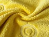 供应竹纤维提花天鹅绒 记忆枕套面料 提花绒布