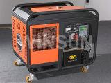 10KW风冷柴油发电机组 开架静音 出口 安全稳定 较小较轻