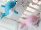 胖鲸鱼鲨鱼公仔鲸鱼纳米粒子泡沫粒子玩具
