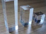 定制透明高档仿水晶有机玻璃 亚克力方块展示架底座展示道具