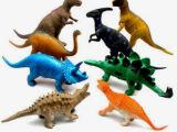 玩具 奥斯尼塑胶 儿童玩具 恐龙模型 8只组合 F283 塑胶玩