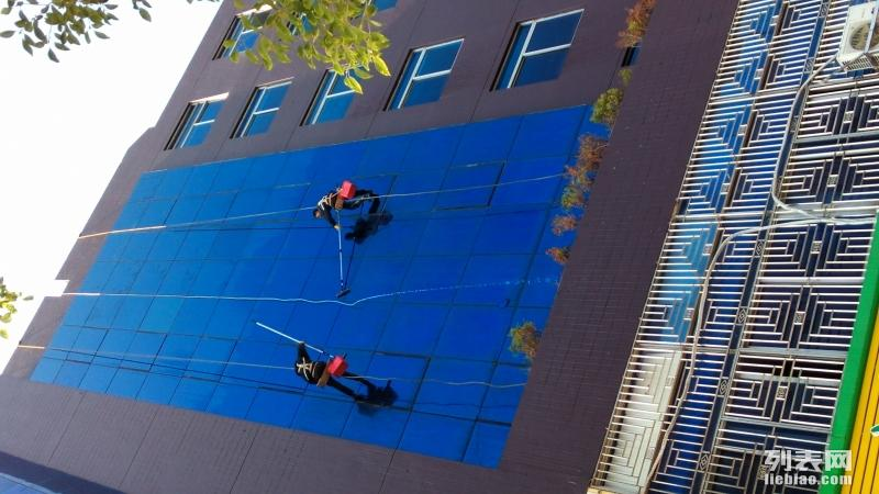 高空吊绳洗外墙 楼房补漏 防水