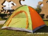 供应多人帐篷 三至四人双层压胶帐篷 野营专业防雨户外帐篷