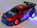 极速漂移玩具遥控车 电动闪光玩具赛车 轮胎带灯儿童玩具车批发