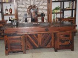 特价专业实木茶几,仿古茶台,多功能泡茶桌,老船木茶桌椅组合