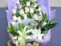清明节用花 黄白菊花 追思祭奠用花
