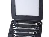 组套工具/组套双向棘轮两用扳手/双向棘轮两用扳手/6件套塑盒