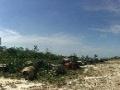 平整场地一块,22亩可用于制作沙石子堆放设备