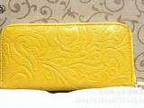 2014爆款女式钱包韩版雕刻纹女士手包单拉链钱包女包