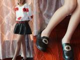 2015春秋女单鞋新款经典黑色韩版儿童鞋子外贸厂家批发