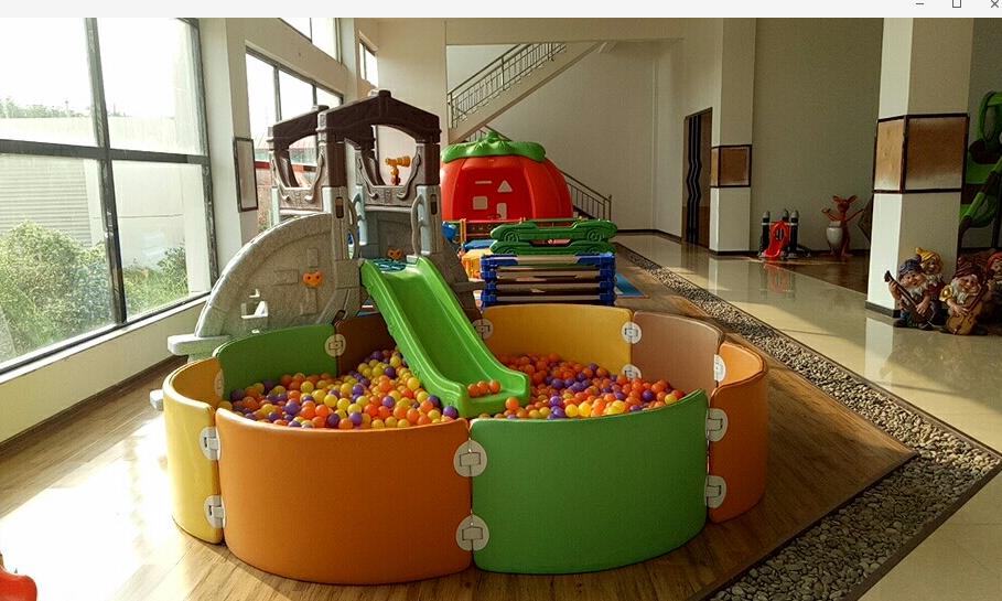 二手儿童游乐设备转让 儿童淘气堡