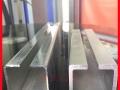 田贝商场水晶折叠门弧形推拉门厂家定做