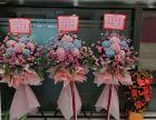 深圳南山科技园鲜花配送 表白花束生日鲜花开业花篮 免运费