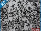 秋菊花布料100%R时尚女装春夏面料 高质量时装面料 久久面料